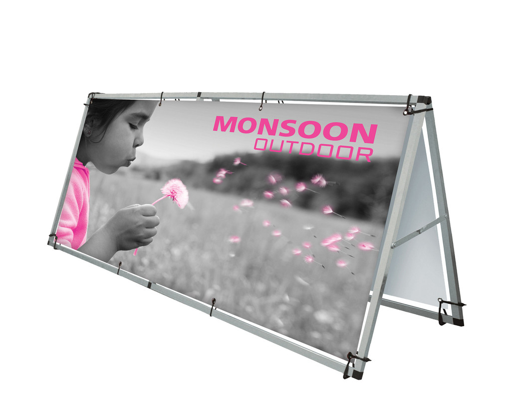 Monsoon Outdoor Banner Frames Large Exhibition Stands