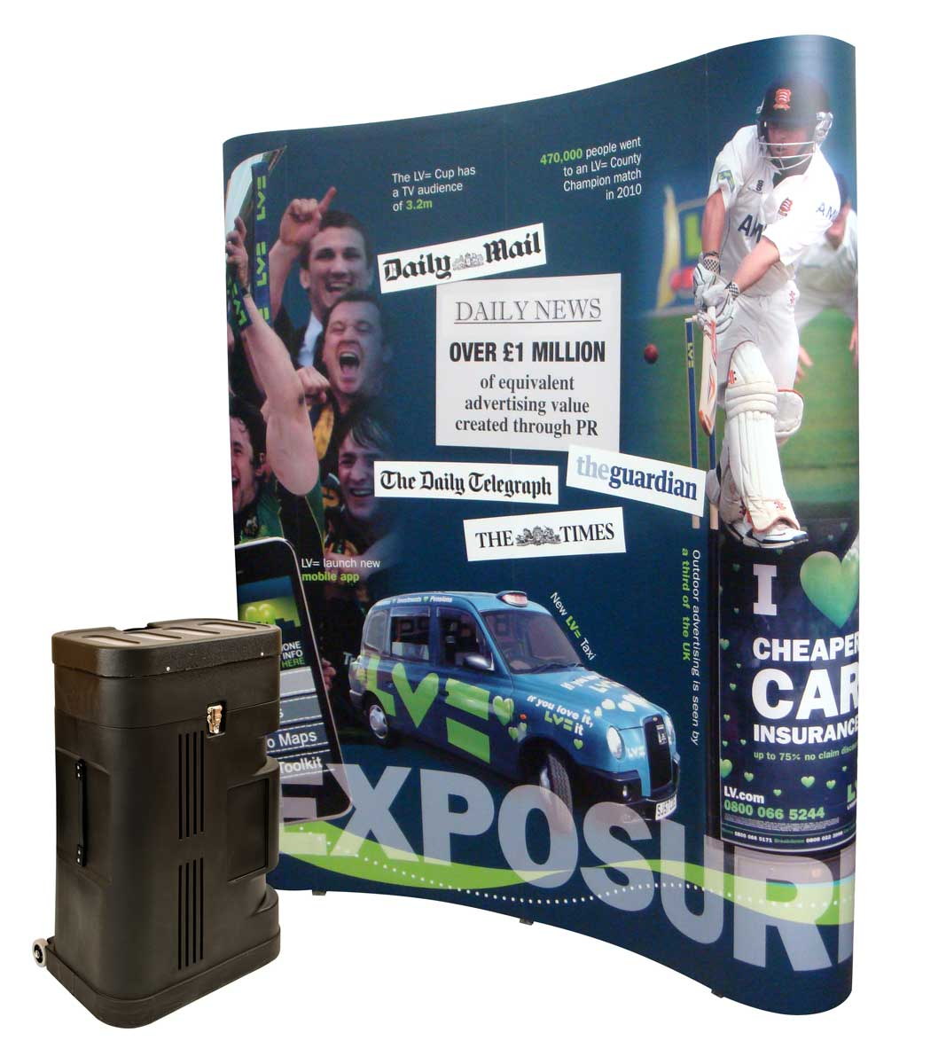 3x2 Pop Up Stands Evolution Quick Exhibition Stands