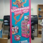 850mm wide roller banners