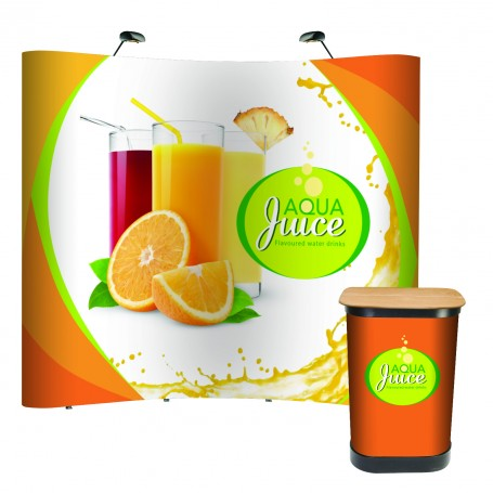 3x3 Impact pop up stand bundle