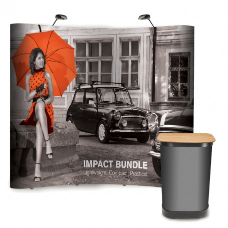 Impact pop up stands