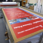 Rollable exhibition graphics panels
