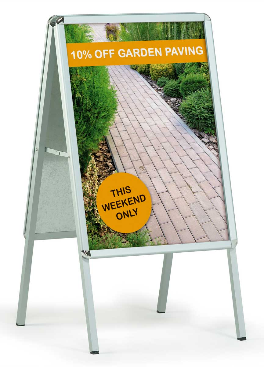 A-Board Signs - A0 - Exhibition Stands & Graphics by RGL Displays