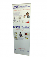 Easy banner stands front