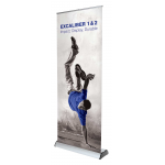 Excaliber exhibition banners