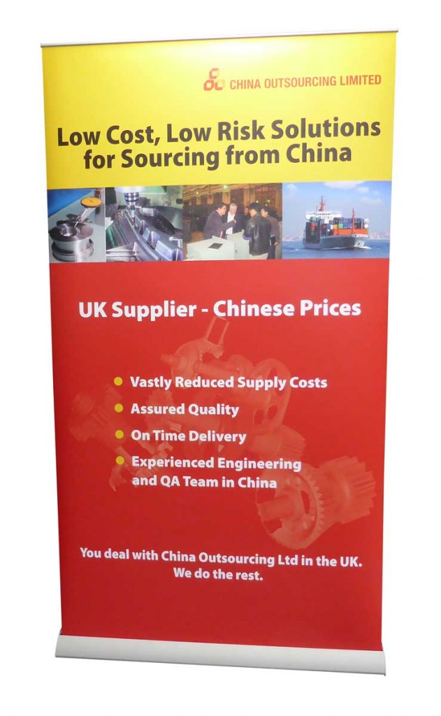 1.2m wide Easy Roller Banners