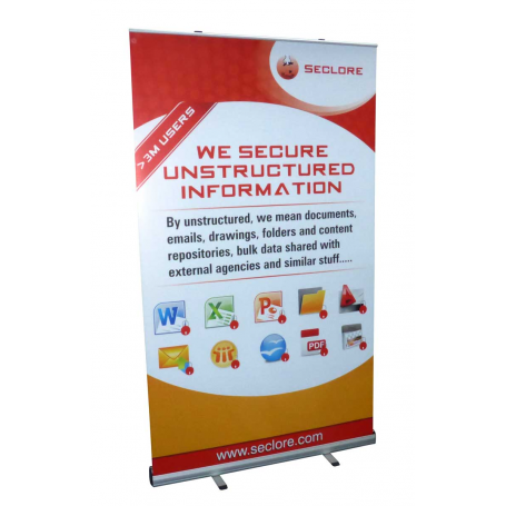 Grasshopper 1.2m wide banner stands