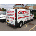 Vinyl cut vehicle livery