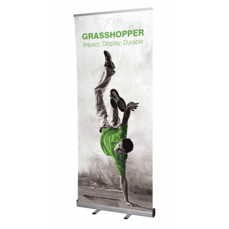 Grasshopper banner stands