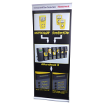85cm wide roller banners