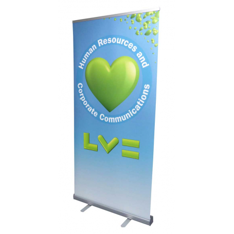 Low cost roller banners