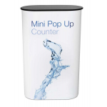 Mini pop up counters black top