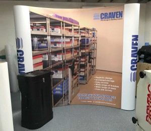 low cost 3x3 pop up stands