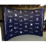 event backdrop display